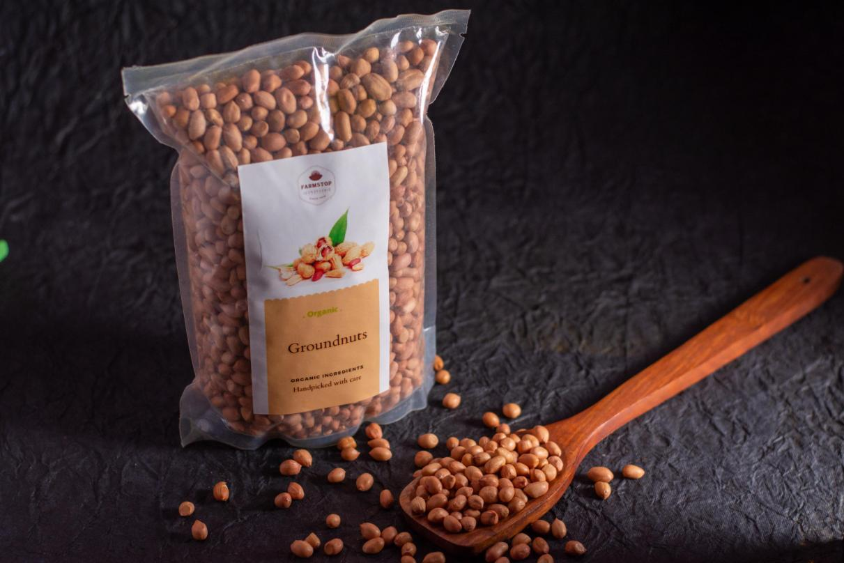 Organically Grown Groundnuts/Peanuts