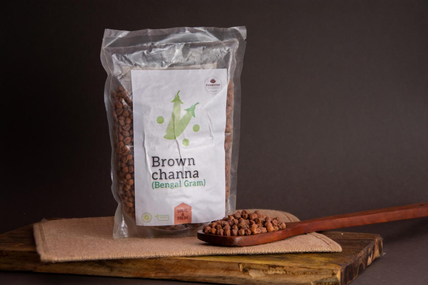 Brown Channa helps decrease cholesterol levels in the body,